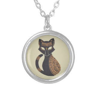 The Egyptian Cat Personalized Necklace