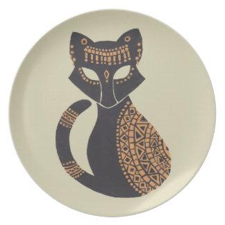 The Egyptian Cat Dinner Plate