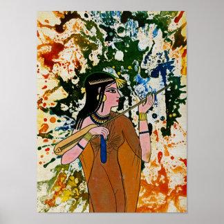 The Egyptian Enchantress by Michael Moffa Poster