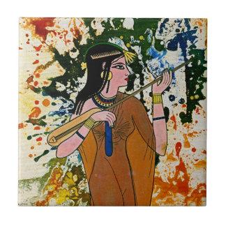 The Egyptian Enchantress by Michael Moffa Tile