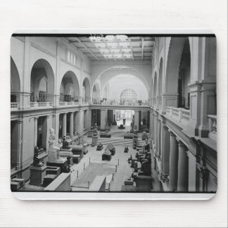 The Egyptian Museum (Interior) circa 1934 Mouse Pad