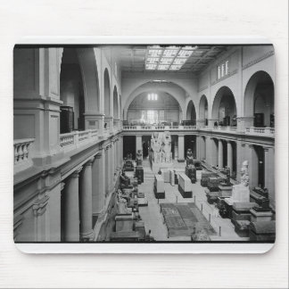 The Egyptian Museum. Interior of Main Hall c.1934 Mouse Pad
