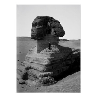 THE EGYPTIAN SPHINX  1900 POSTER