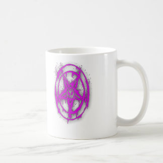 The Egyptian Symbol Of Good Luck with Color Violet Coffee Mug