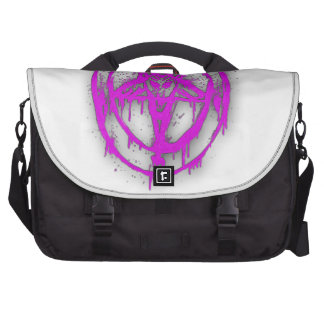 The Egyptian Symbol Of Good Luck with Color Violet Bag For Laptop