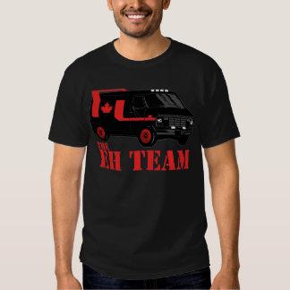 the eh team - all hail canada tee shirts