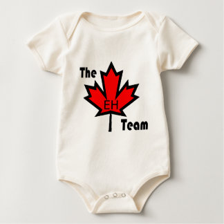 The eh team clothing baby bodysuit
