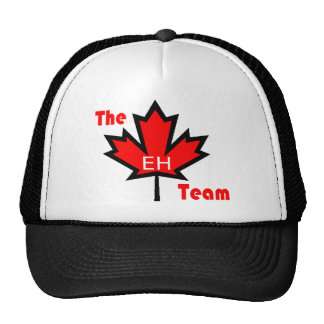 the eh team hats
