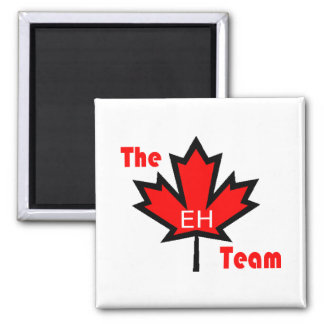 the eh team fridge magnet