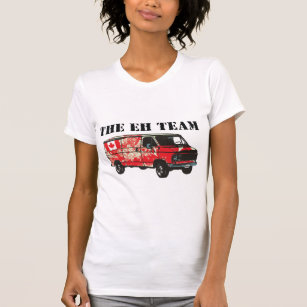 Canadian slang t shirts shirt designs zazzle the eh team play on canadian slang t shirt m4hsunfo