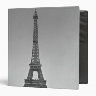 The Eiffel tower, 1887-89 Binder