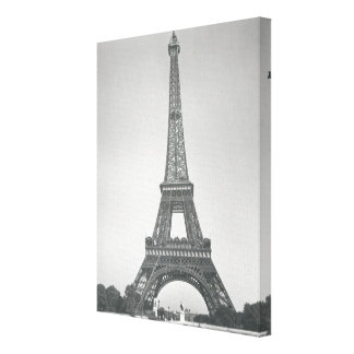 The Eiffel Tower, 1887-89 Canvas Print