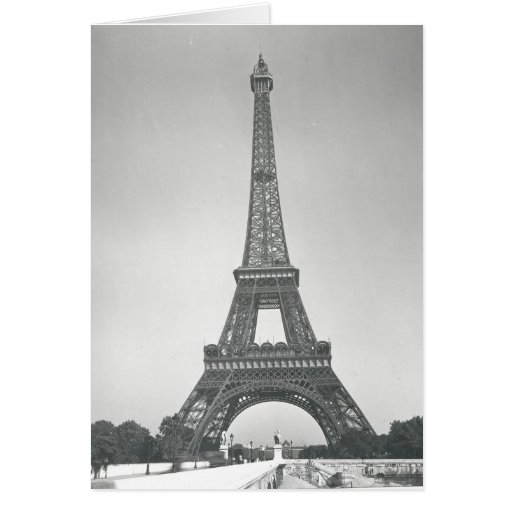 The Eiffel Tower, 1887-89 Cards