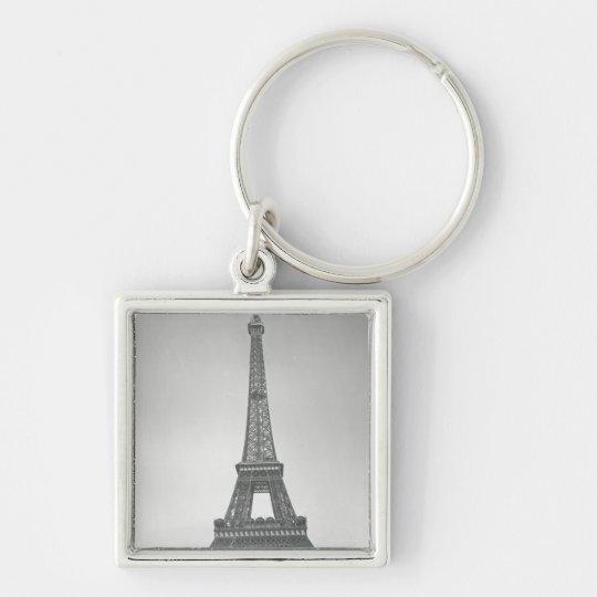 The Eiffel Tower, 1887-89 Keychain