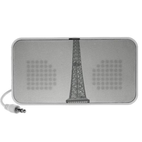 The Eiffel Tower, 1887-89 Portable Speaker