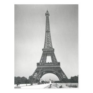 The Eiffel Tower, 1887-89 Postcard