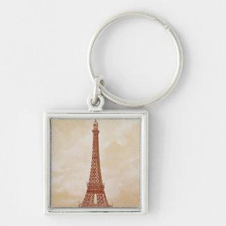 The Eiffel Tower, 1889 Keychain