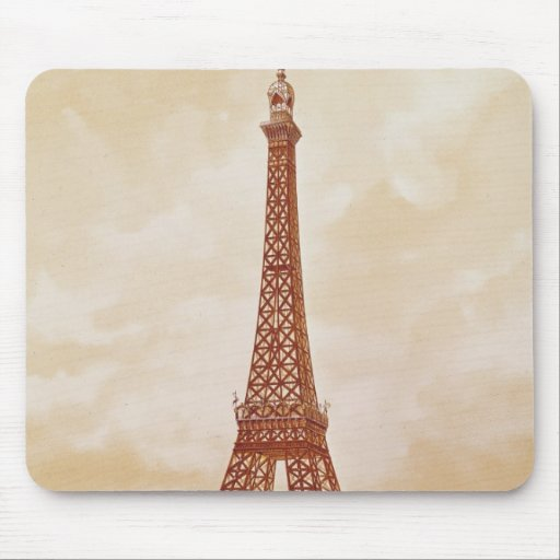 The Eiffel Tower, 1889 Mousepad