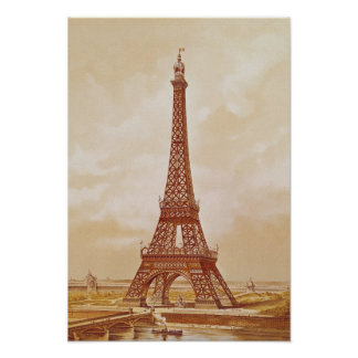 The Eiffel Tower, 1889 Poster