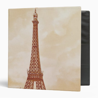 The Eiffel Tower, 1889 Vinyl Binder