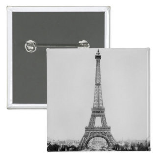 The Eiffel Tower 2 2 Inch Square Button