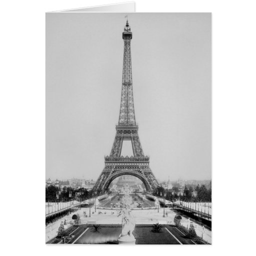 The Eiffel Tower 2 Card