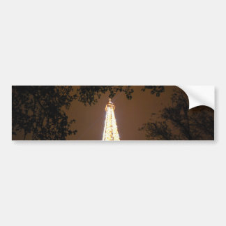 The Eiffel Tower at Night Bumper Stickers
