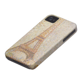 The Eiffel Tower by Georges Seurat iPhone 4 Cover
