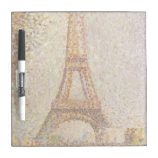 The Eiffel Tower by Georges Seurat Dry-Erase Board