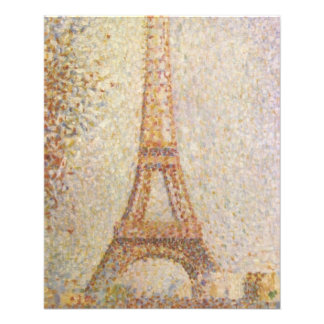 The Eiffel Tower by Georges Seurat Flyer