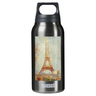 The Eiffel Tower by Georges Seurat Insulated Water Bottle