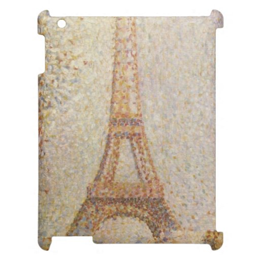The Eiffel Tower by Georges Seurat iPad Cases