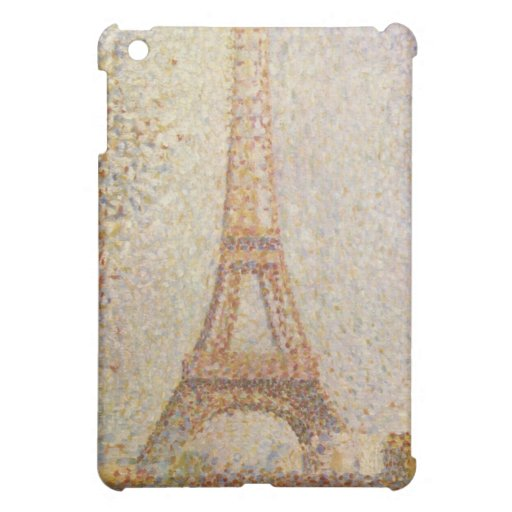 The Eiffel Tower by Georges Seurat iPad Mini Case