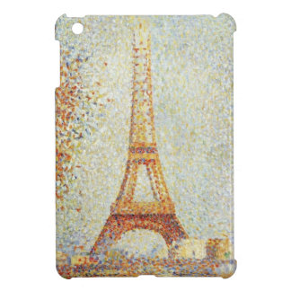 The Eiffel Tower by Georges Seurat iPad Mini Cases