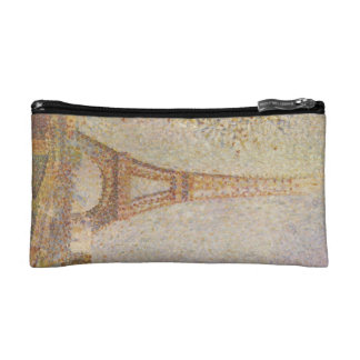 The Eiffel Tower by Georges Seurat Makeup Bag
