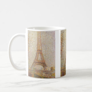 The Eiffel Tower by Georges Seurat Classic White Coffee Mug