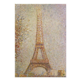 The Eiffel Tower by Georges Seurat Poster