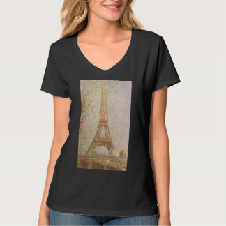 The Eiffel Tower by Georges Seurat Tee Shirt