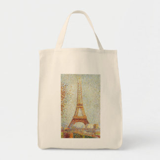 The Eiffel Tower by Georges Seurat Tote Bag