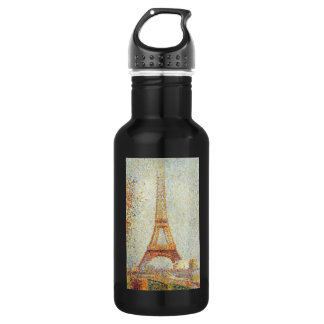 The Eiffel Tower by Georges Seurat Water Bottle