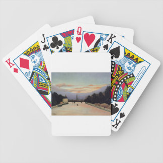 The Eiffel Tower by Henri Rousseau Bicycle Playing Cards