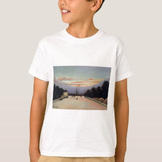 The Eiffel Tower by Henri Rousseau T-Shirt