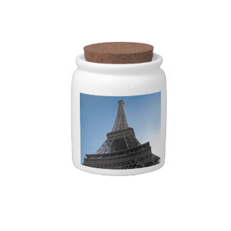 The Eiffel Tower Candy Jars
