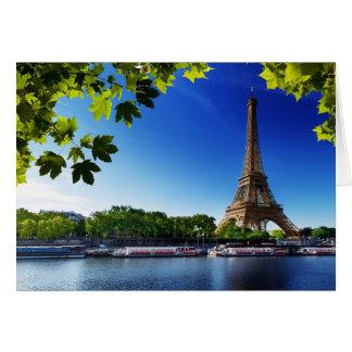 The Eiffel Tower Card