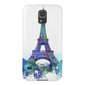 The Eiffel  tower color splash Cases For Galaxy S5