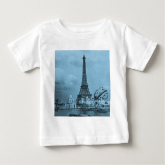 The Eiffel Tower from the Seine Paris 1900 Baby T-Shirt