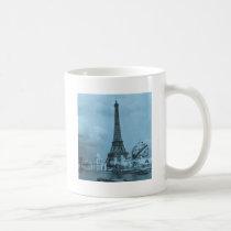 The Eiffel Tower from the Seine Paris 1900 Coffee Mug