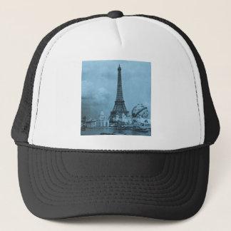 The Eiffel Tower from the Seine Paris 1900 Trucker Hat