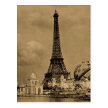 The Eiffel Tower from the Seine Paris Exposition Post Cards
