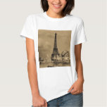 The Eiffel Tower from the Seine Paris Exposition T-Shirt